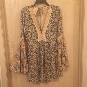 Free People Once Upon a Summertime Romper | Size M